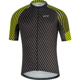 GORE WEAR C3 Maillot de cyclisme Homme, black/neon yellow